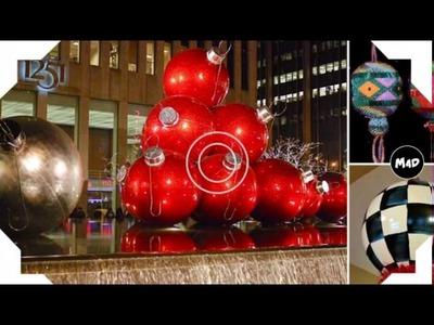 Large Christmas Ball Ornaments