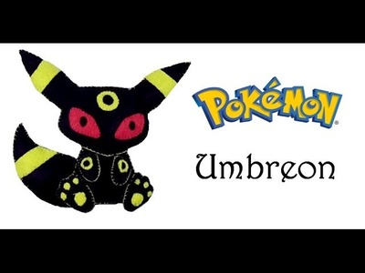 Pokemon : How To Make Umbreon Plushie Tutorial