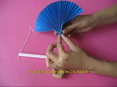 Toys from Trash - Magic Paper Fan - Instructions in English