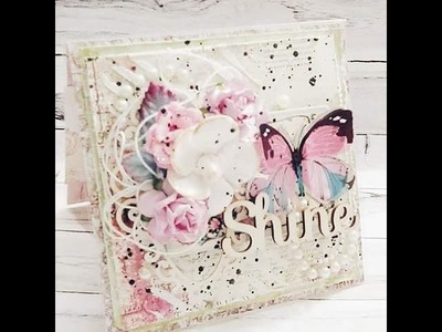 5 ~ SHABBY CHIC CARDS {TUTORIAL AVAILABLE} #TEAMTYLER