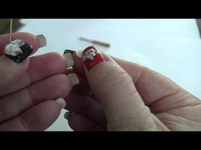Alice in Wonderland, Queen of Hearts Nail Collaboration Video