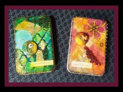 Altered Gift Card Tins