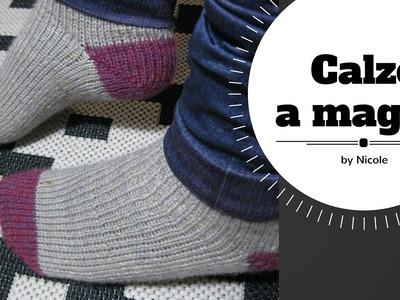 Calze a maglia tutorial. Knitting toe up socks