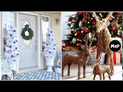 Christmas Window Decorations Ideas - Elegant Christmas Decor