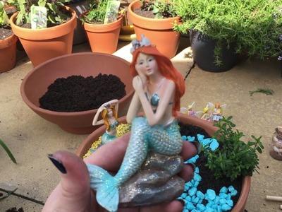 Creating My Mini Fairy and Mermaid Gardens