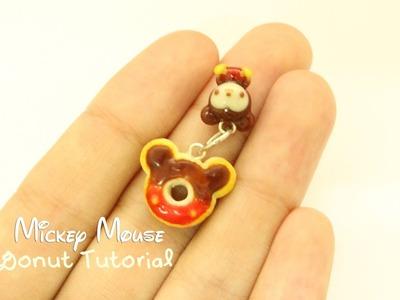 Disney Series: Mickey Donut Charm Tutorial (Polymer Clay)