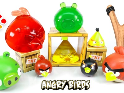 DIY Angry Birds Jelly - How To Make Edible Angry Birds Gummy !