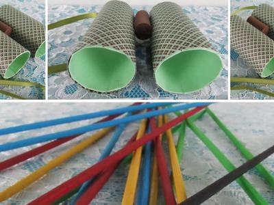 DIY - Binoculars and Pick up sticks!! FUN FOR KIDS