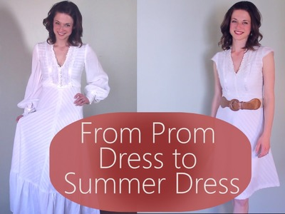 From Prom Dress to Casual Summer Dress