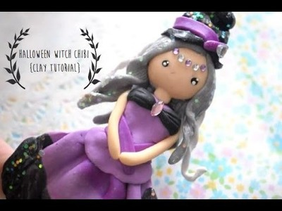 {Halloween Tutorial} Witch Clay Chibi