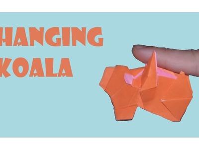 Hanging Koala Origami Tutorial (Yoshihide Momotani)