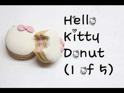 Hello Kitty Pastry Tutorial (1 of 5): Donut