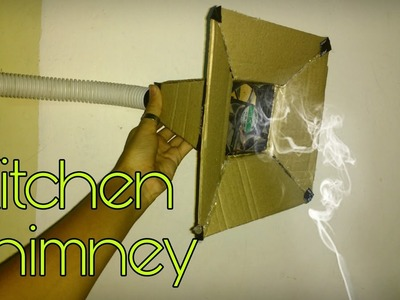 How to make a kitchen chimney home made