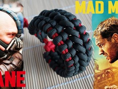 Mad Max Bane's Cuff Paracord Bracelet Tutorial