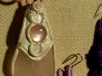 Made In Glastonbury   Crystal Pendants