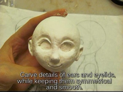 Making a Ball Jointed Doll: Part 1 The Head