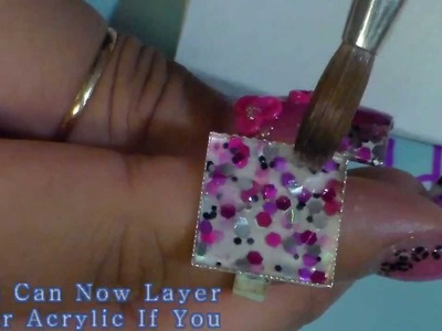Matching Acrylic ring for your nails!