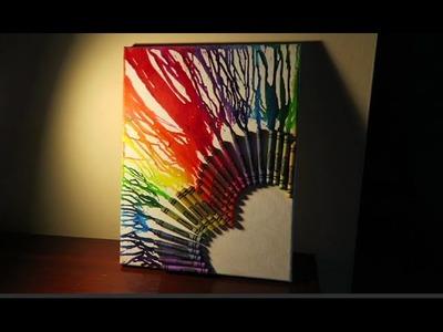Melting Crayon Heart Tutorial