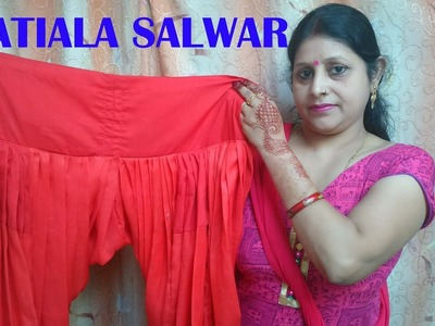 Patiala salwar | how to stitch.sew patiala salwar very easy method. part-2