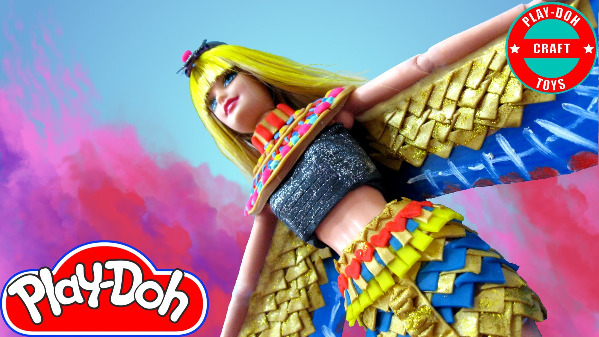 Play Doh Barbie Katy Perry - Dark Horse Inspired Costume (2) Play-Doh Craft N Toys