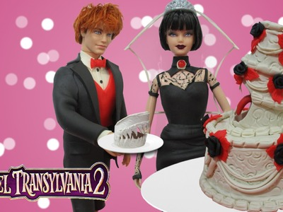 "Play Doh ""Hotel Transylvania 2"" Mavis & Jonathan  Wedding Inspired Clothes"