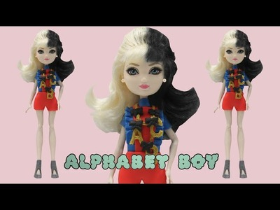 "Play Doh Melanie Martinez  ""Alphabet Boy""  Inspired Costume Apple White Ever After High"