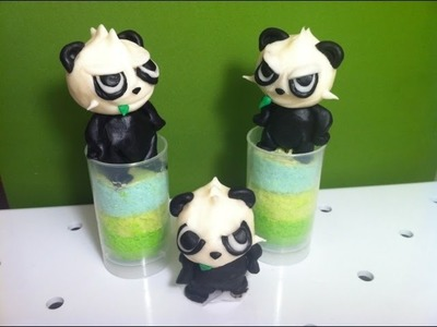 Pokemon X and Y- Sculpted Pancham Push-up Pops How-to