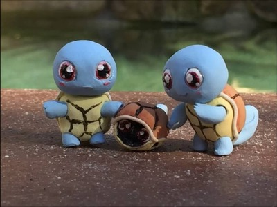 Polymer Clay Baby Squirtle (Esquirebob's Too Cute: Pokemon)