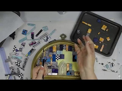 Polymer Clay Tile Mosaic Part II -- Patti Tolley Parrish -- Inky Obsessions