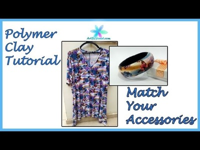 Polymer Clay Tutorial - Match Your Accessories - Lesson #50