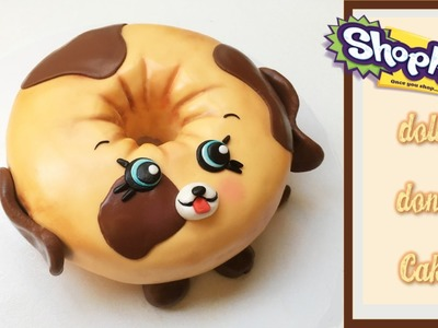 Shopkins.Petkins Dolly Donut Cake | How to make from Creative Cakes by Sharon