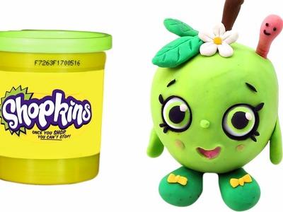 SHOPKINS Play doh STOP MOTION Surprises - - - Let's make Shopkins