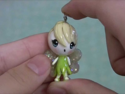 Tinker Bell Polymer Clay Charm