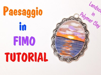 TUTORIAL: Dipingere col fimo - Paint with polymer clay | Sissy's Creations