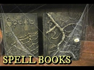 WITCHES SPELL BOOK TUTORIAL ~HALLOWEEN~