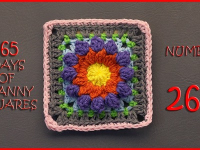 365 Days of Granny Squares Number 268