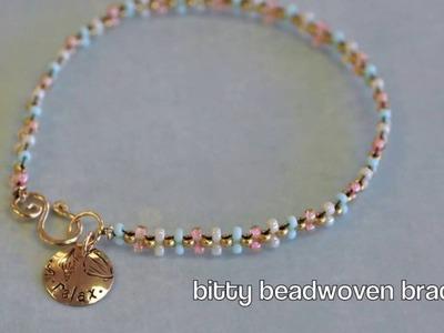 Bitty Beadwoven Bracelet