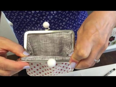 Coin Purse Clasp Installation Tutorial