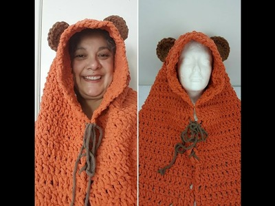 Crochet Fun Animal Snood  (Video 1)