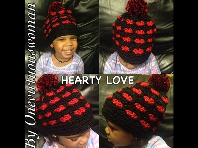CROCHET TUTORIAL TIME: THE HEARTY LOVE BEANIE