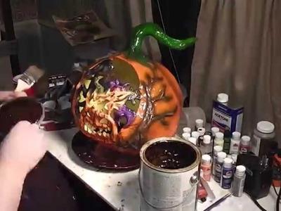 Fancy Carve 7 - Daniel-san, show me paint the face
