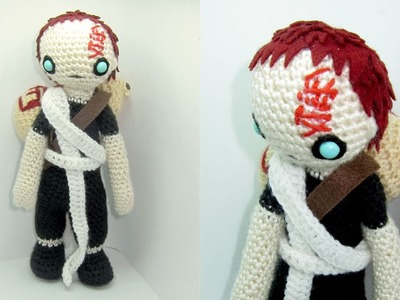 Gaara Amigurumi Crochet Tutorial Part 1
