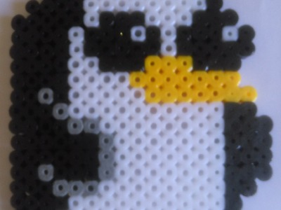 Gunter de Hora de Aventuras con Hama Beads. Adventures Time