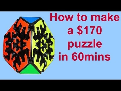 How to make a $170 puzzle in 60 mins!