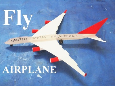 How to make a airplane