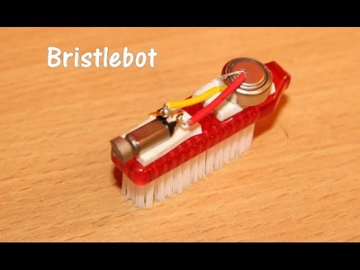 How to make a Bristlebot - Toothbrush Robot
