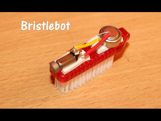 How to make a Bristlebot - Toothbrush Robot