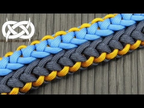 How to make a Cloverfield (version 1) Paracord Bracelet