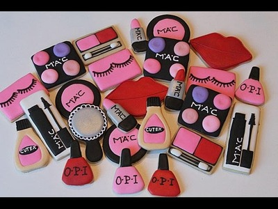 HOW TO MAKE A MAKE UP COOKIES