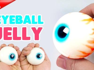 How to make Real EYEBALL JELLY !! Eyeball Gummy